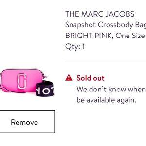 THE MARC JACOBS Snapshot Crossbody Bag-